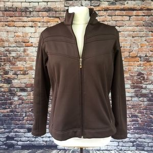 Lucy Activewear Softshell Zip Softshell Brown XL
